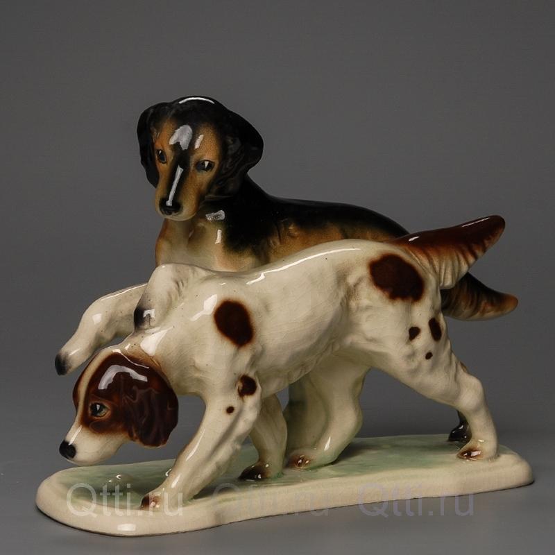 """Статуэтка """"Две собаки"""", Германия"""