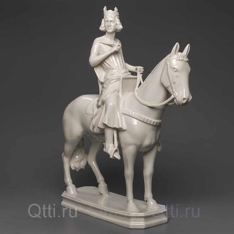 "Статуэтка из фарфора ""Римский патриций на коне"" Rosenthal Германия"