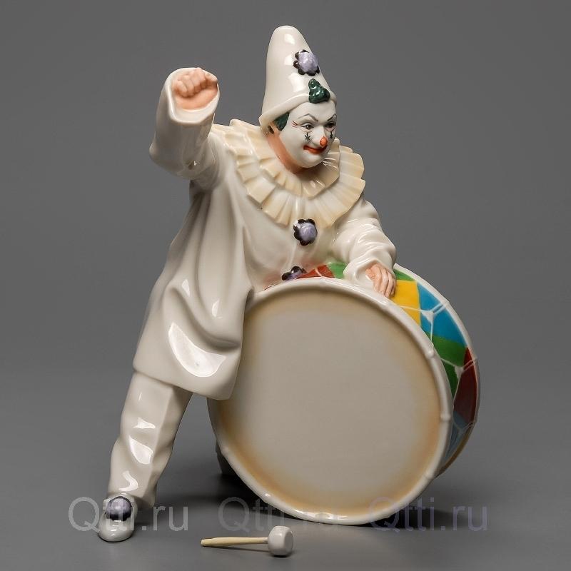 """Статуэтка """"Клоун с барабаном"""", Hutschenreuther"""