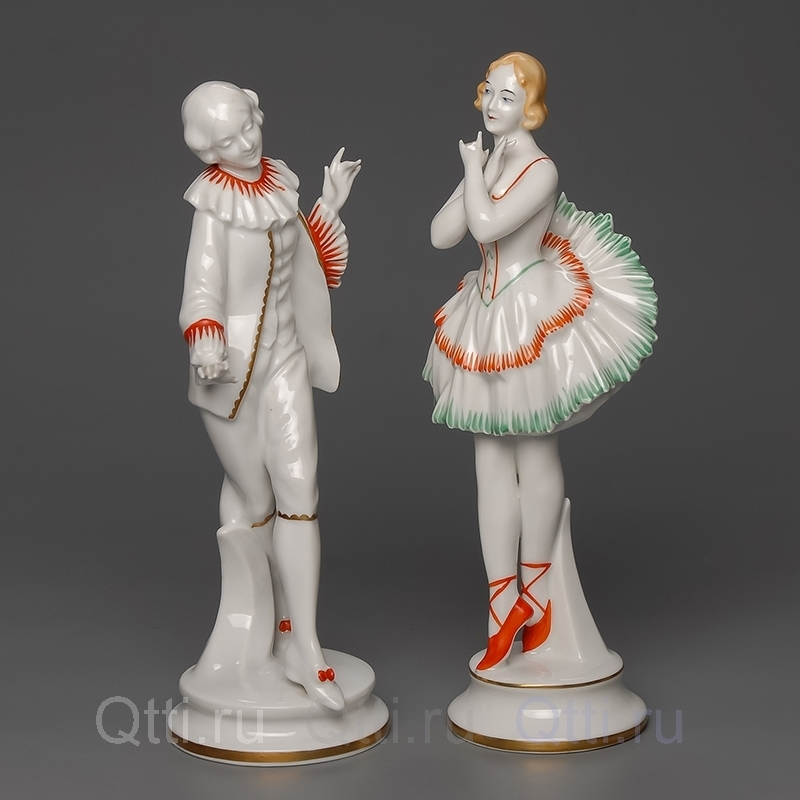 "Статуэтка ""Дама и кавалер"", Neu Tettau"