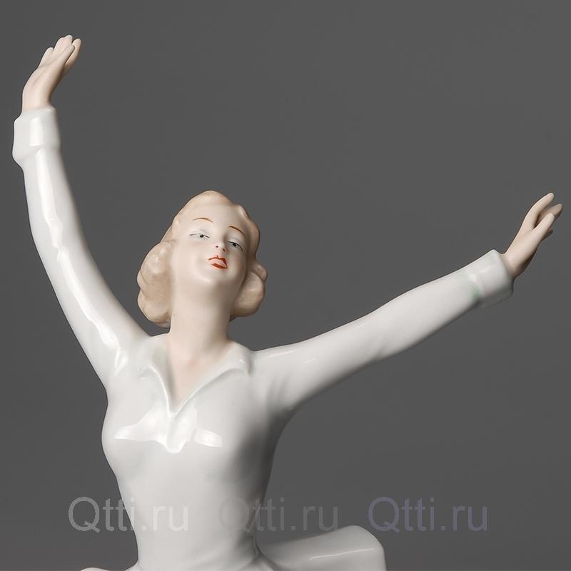 """Статуэтка """"Фигуристка"""", Wallendorf"""