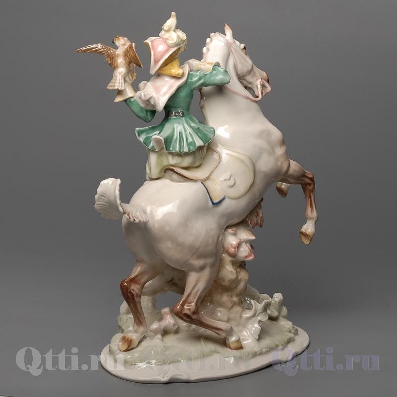 "Статуэтка ""Охотница на коне"" Hutschenreuther"