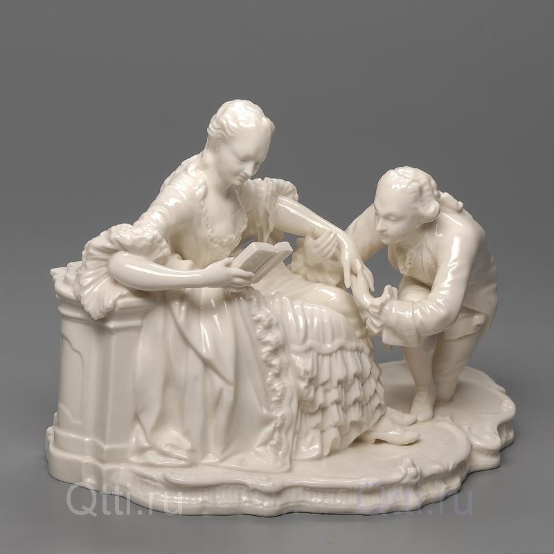 """Статуэтка """"Дама и Кавалер"""", Nymphenburg"""