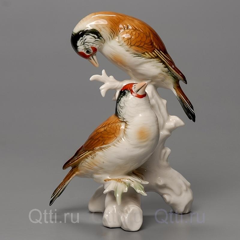 "Статуэтка ""Птички на ветке"", Karl Ens"