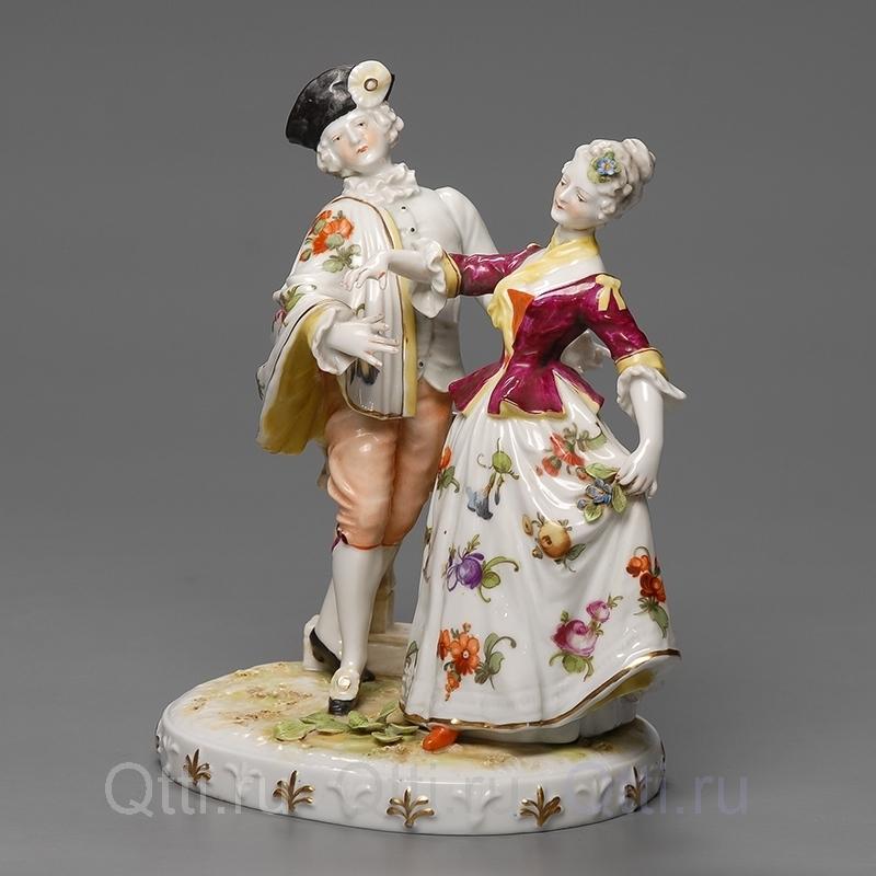"""Статуэтка """"Дама и кавалер"""", Германия"""