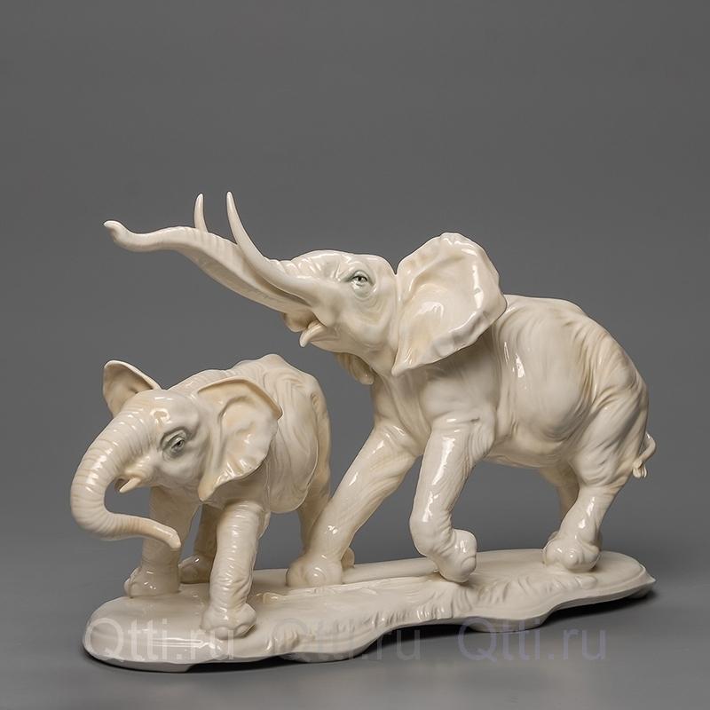 """Статуэтка """"Два слона"""" Karl Ens"""
