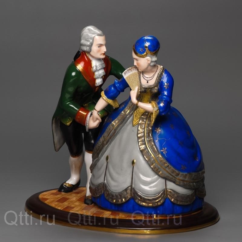 "Статуэтка ""Дама и Кавалер"", Fraureuth"