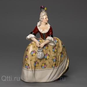 """Статуэтка """"Дама в платье"""", Karl Ens"""