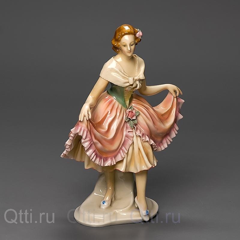 """Статуэтка """"Девушка в платье"""", Karl Ens"""