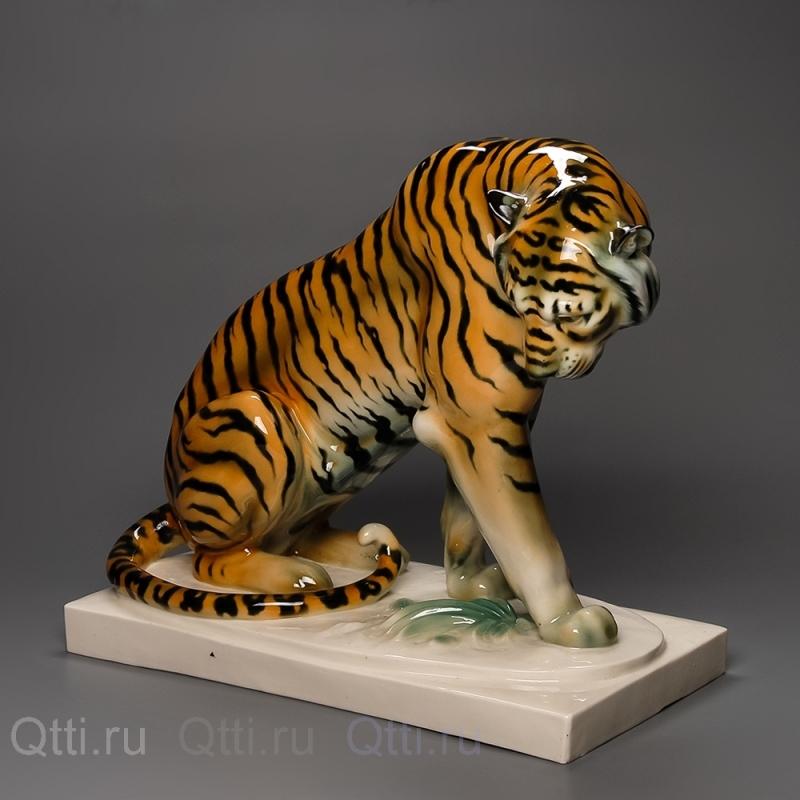 "Статуэтка ""Тигр"", Schwarzburger"