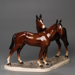 "Статуэтка ""Две лошади"", Katzhutte"