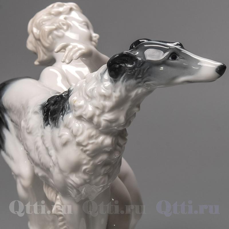 """Статуэтка """"Мальчик с собакой"""", Rosenthal"""