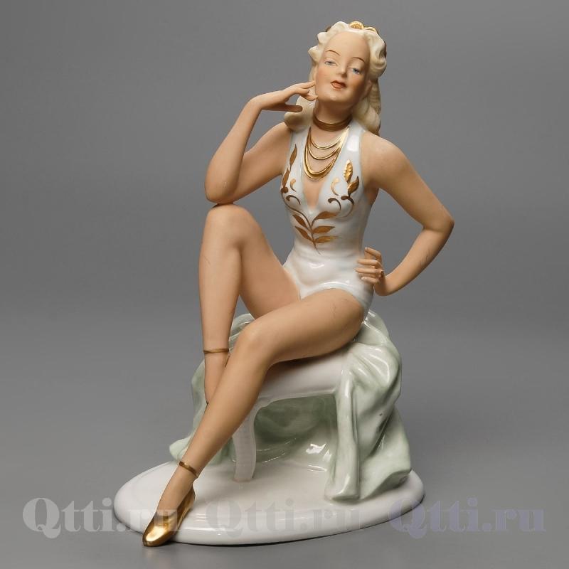 """Статуэтка """"Девушка в купальнике"""" Unterweissbach"""