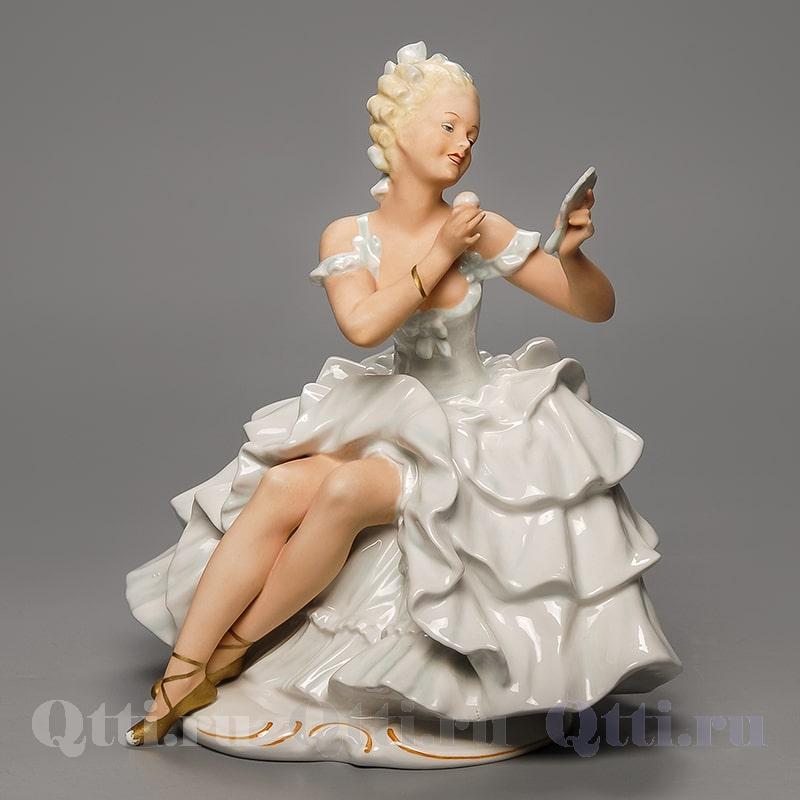 """Статуэтка """"Балерина с зеркалом"""" Schaubach Kunst"""