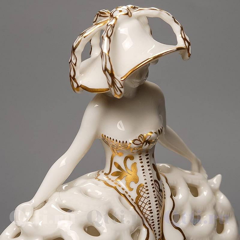 """Статуэтка """"Девушка в платье"""", Hutschenreuther"""