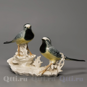 "Статуэтка ""Две птички"", Karl Ens"