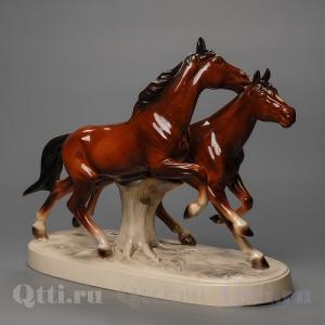"Статуэтка ""Бегущие лошади"" Katzhutte"