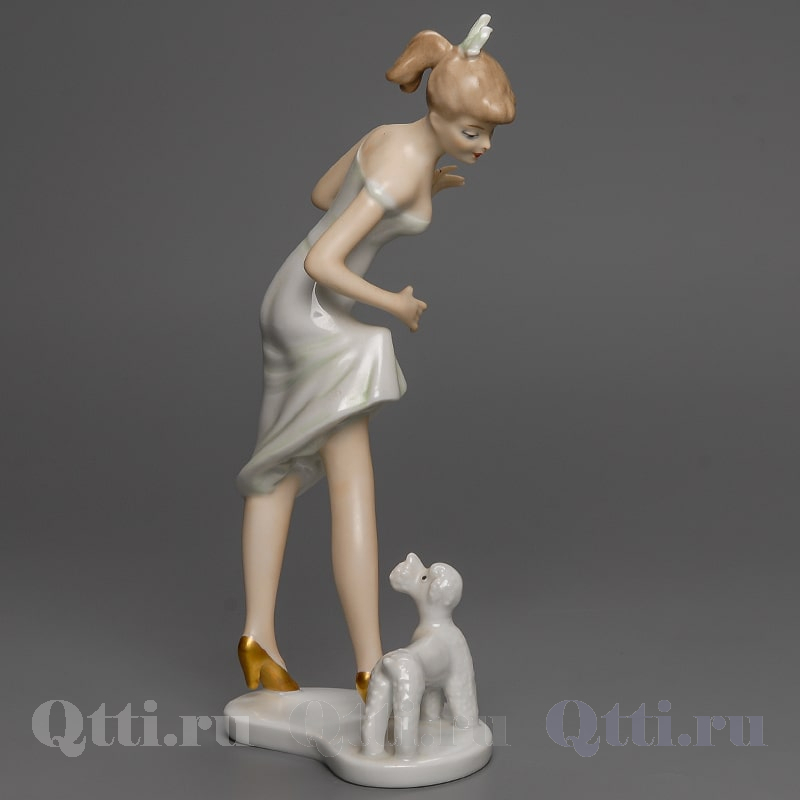 "Статуэтка ""Дама с собачкой"" Wallendorf"