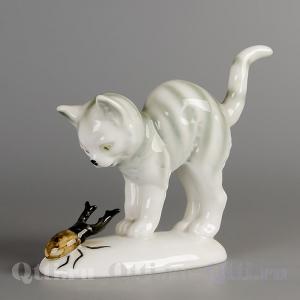 "Статуэтка ""Котёнок и Жук"" Grafenthal"