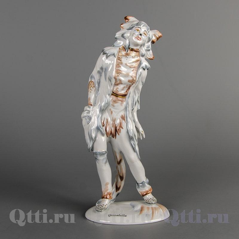 "Статуэтка из фарфора ""Гризабелла из мюзикла кошки"" Wallendorf Германия"