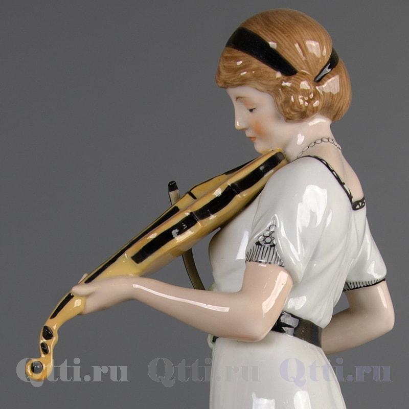 "Статуэтка ""Девушка со скрипкой"" Karl Ens"