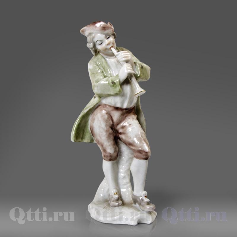 """Статуэтка из фарфора """"Пьро с пуделем Твист"""" Rosenthal Германия"""