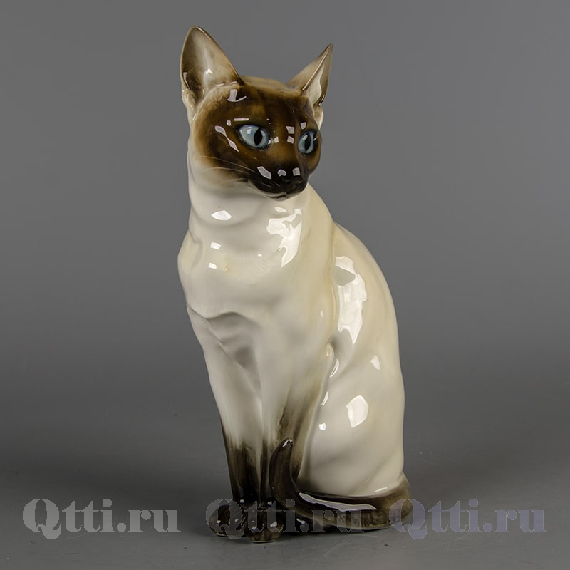 "Статуэтка из фарфора ""Сиамская кошка Лиза"" Hutschenreuther Германия"