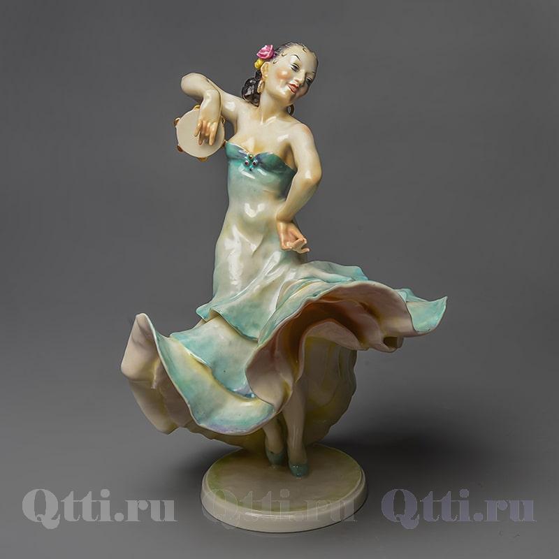 Фарфоровая статуэтка Испанская танцовщица Hutschenreuther Германия