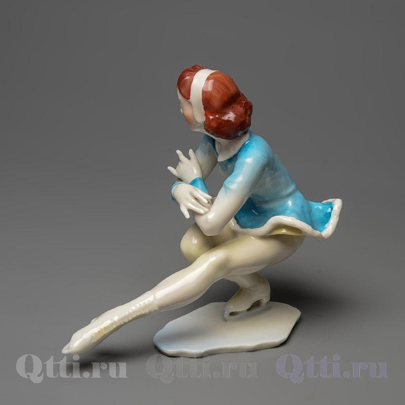 Фарфоровая статуэтка Фигуристка Hutschenreuther Германия