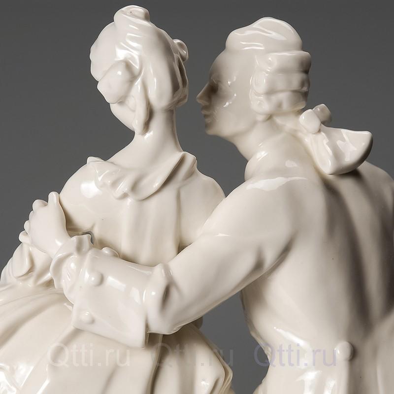 """Большая статуэтка """"Кавалер и дама"""", Германия"""