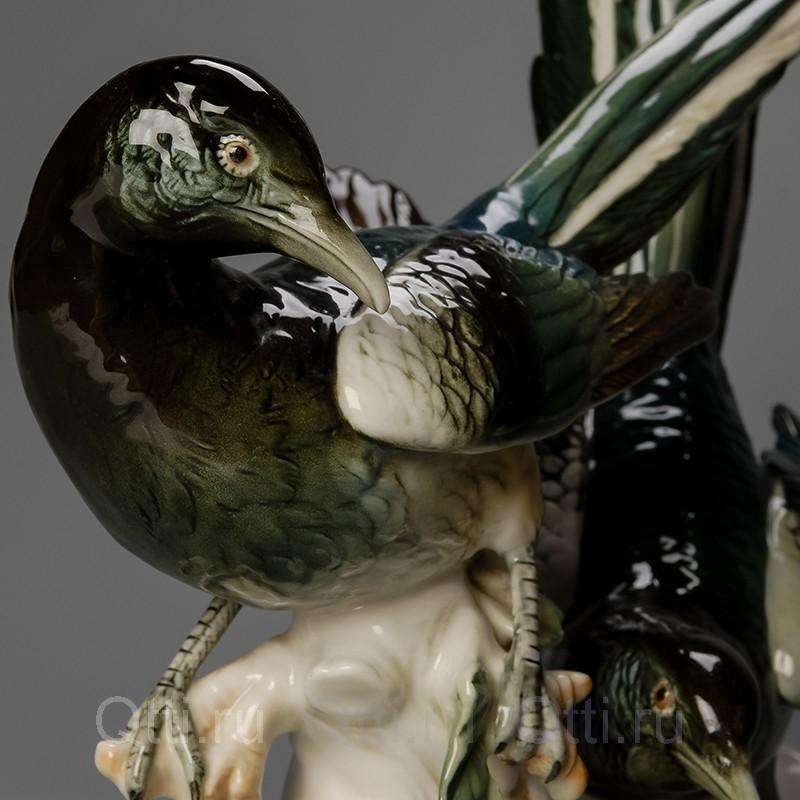 """Большая статуэтка """"Две птички"""", Германия"""