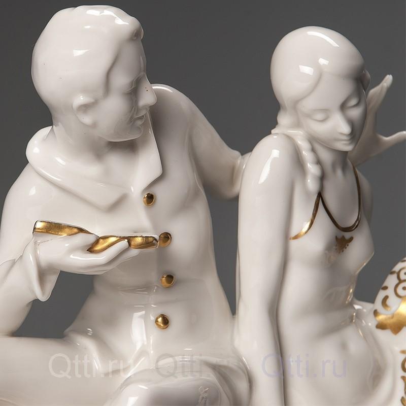 """Большая статуэтка """"Свидание"""", Германия"""